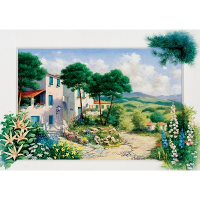 Art-Puzzle-5180 In Summerhouse