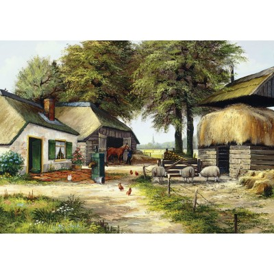 Art-Puzzle-5181 Farm House