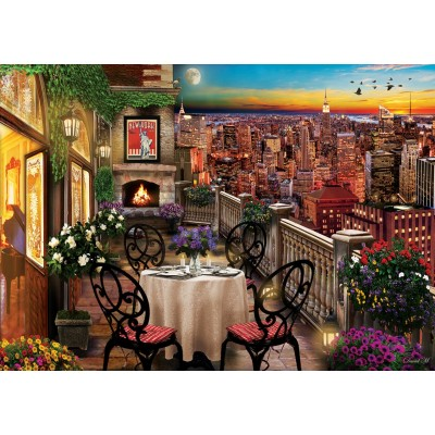Art-Puzzle-5184 Dinner in New York
