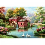 Art-Puzzle-5188 Red Old Mill
