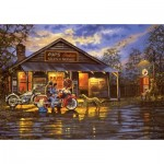 Art-Puzzle-5190 Motorcyclist