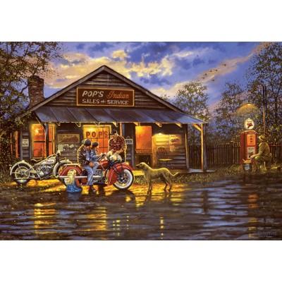 Art-Puzzle-5190 Motorcyclist