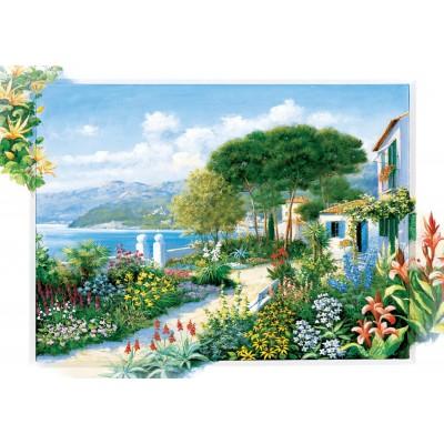 Art-Puzzle-5370 Coastline Town