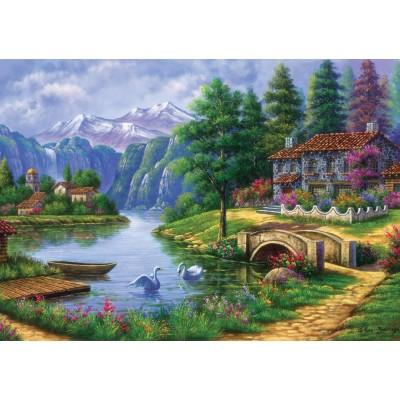 Art-Puzzle-5371 Lake Village
