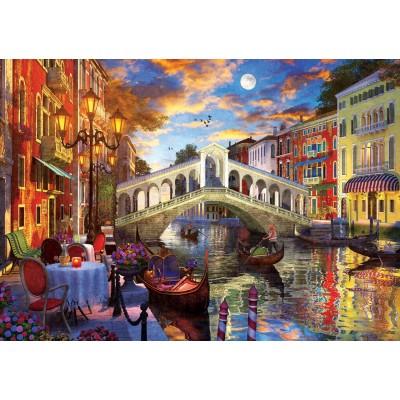 Art-Puzzle-5372 Pont Rialto, Venise