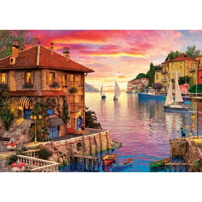 Art-Puzzle-5374 Mediterranean Port