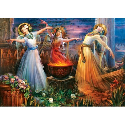 Art-Puzzle-5470 Fire Dance
