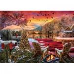 Art-Puzzle-5472 Caravan Camp
