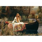 Art-Puzzle-5478 John William Waterhouse - The Lady of Shalott, 1888