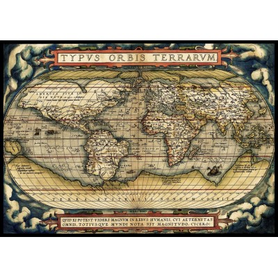 Art-Puzzle-5521 The First Modern Atlas, 1570