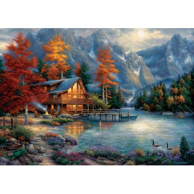 Art-Puzzle-5523 Chuck Pinson - Fall Reflection