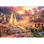 Art-Puzzle-5524 Chuck Pinson - Golden Sea