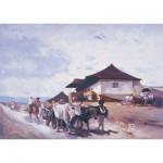 Art-Puzzle-80522 Le Chariot à Boeufs