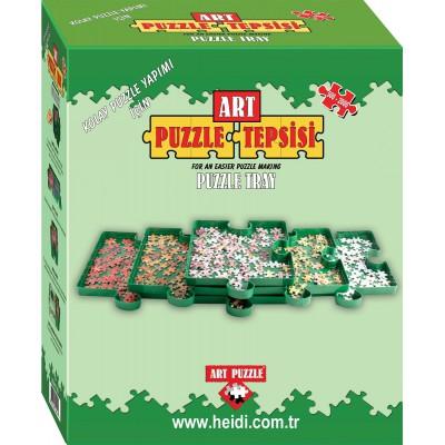 Art-Puzzle-904 6 Boîtes de Tri pour Puzzles 500 à 2000 Pièces