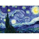 Art-by-Bluebird-Puzzle-60001 Vincent Van Gogh - The Starry Night, 1889