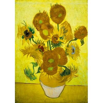 Art-by-Bluebird-Puzzle-60003 Vincent Van Gogh - Sunflowers, 1889