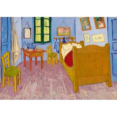 Art-by-Bluebird-Puzzle-60004 Vincent Van Gogh - Bedroom in Arles, 1888
