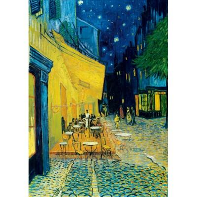 Art-by-Bluebird-Puzzle-60005 Vincent Van Gogh - Café Terrace at Night, 1888