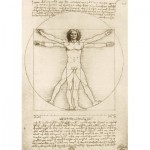 Art-by-Bluebird-Puzzle-60009 Leonardo Da Vinci - The Vitruvian Man, 1490