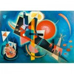 Art-by-Bluebird-Puzzle-60021 Kandinsky - In Blue, 1925