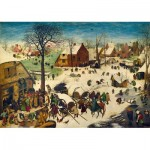 Art-by-Bluebird-Puzzle-60026 Pieter Bruegel the Elder - The Census at Bethlehem, 1566