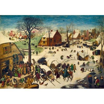 Art-by-Bluebird-Puzzle-60026 Pieter Bruegel the Elder - The Census at Bethlehem, 1566