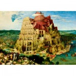 Art-by-Bluebird-Puzzle-60027 Pieter Bruegel the Elder - The Tower of Babel, 1563