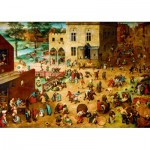 Art-by-Bluebird-Puzzle-60034 Pieter Bruegel the Elder - Children's Games, 1560