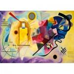 Art-by-Bluebird-Puzzle-60036 Kandinsky - Gelb-Rot-Blau, 1925