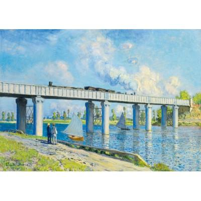 Art-by-Bluebird-Puzzle-60038 Claude Monet -Railway Bridge at Argenteuil, 1873