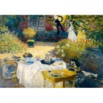 Art-by-Bluebird-Puzzle-60040 Claude Monet - The Lunch, 1873