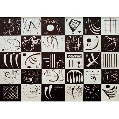 Art-by-Bluebird-Puzzle-60051 Kandinsky - Trente, 1937