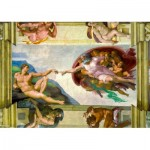 Art-by-Bluebird-Puzzle-60053 Michelangelo - The Creation of Adam, 1511