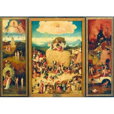 Art-by-Bluebird-Puzzle-60060 Bosch - The Haywain Triptych