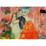 Art-by-Bluebird-Puzzle-60061 Gustave Klimt - The Women Friends, 1917