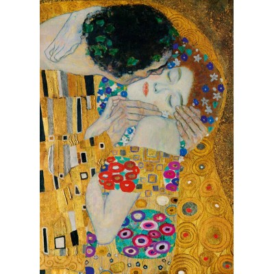 Art-by-Bluebird-Puzzle-60079 Gustave Klimt - The Kiss (detail), 1908