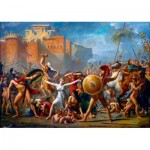Art-by-Bluebird-Puzzle-60084 Jacques-Louis David - The Intervention of the Sabine Women, 1799