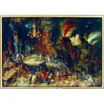 Art-by-Bluebird-Puzzle-60091 Jan Brueghel the Elder - Allegory of Fire, 1608