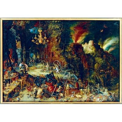 Art-by-Bluebird-Puzzle-60091 Jan Brueghel the Elder - Allegory of Fire, 1608
