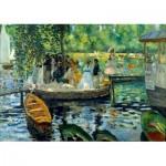 Art-by-Bluebird-Puzzle-60100 Renoir - La Grenouillère, 1869