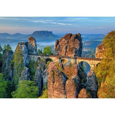 Bluebird-Puzzle-70003 The Bastei Bridge