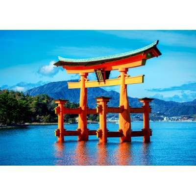 Bluebird-Puzzle-70009 The torii of Itsukushima Shrine