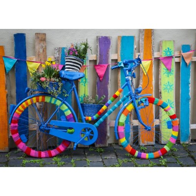 Bluebird-Puzzle-70010 My Beautiful Colorful Bike