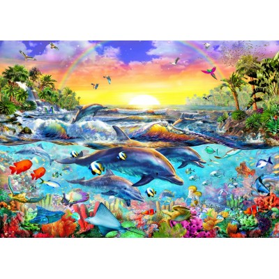 Bluebird-Puzzle-70015 Tropical Cove