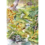 Bluebird-Puzzle-70025 Forest Animals