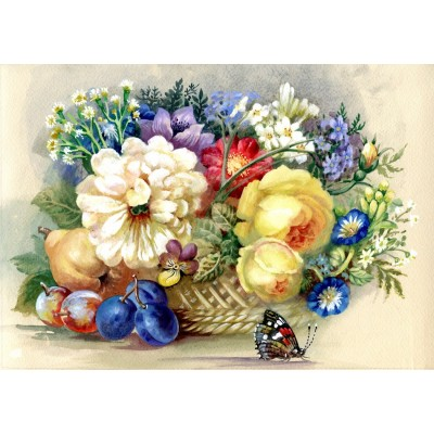 Bluebird-Puzzle-70026 Autumn Bouquet