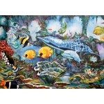 Bluebird-Puzzle-70034 Underwater World