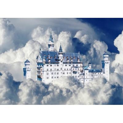 Bluebird-Puzzle-70036 Neuschwanstein Castle in Clouds