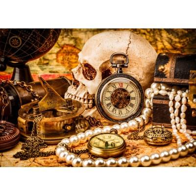 Bluebird-Puzzle-70048 Pirate Treasure