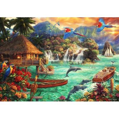 Bluebird-Puzzle-70052 Island Life